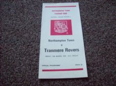 Northampton Town v Tranmere Rovers, 1975/76
